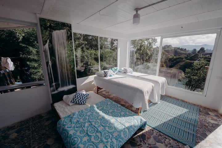 #4  Habitación con espectacular vista de la laguna