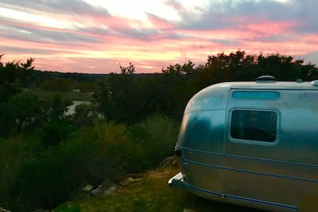 Llano River - Vintage Airstream - Mason