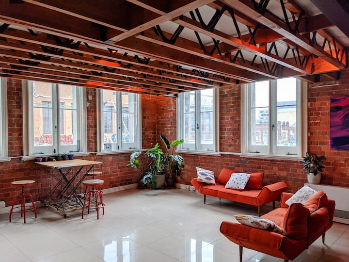 Warehouse Loft Apartment