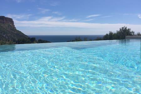 Studio dans villa contemporaine avec piscine. - Ortak mülk