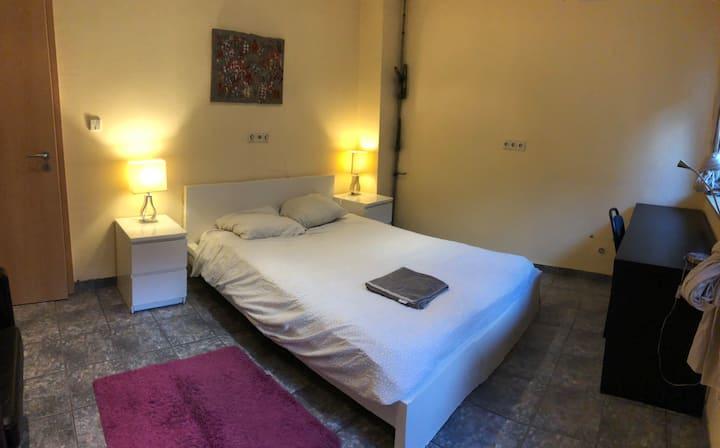 Grande chambre tout confort proche Kirchberg