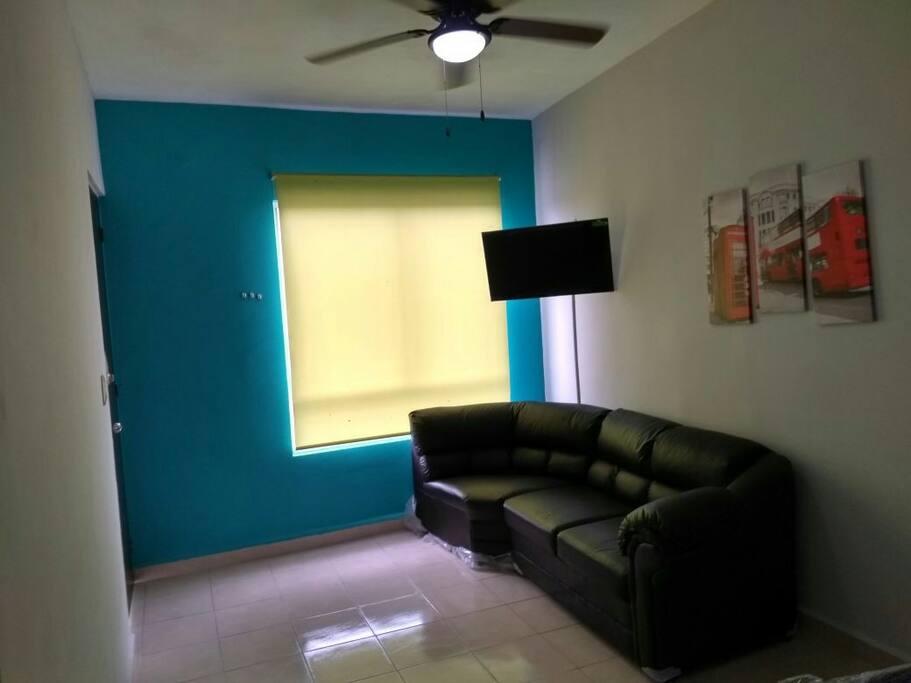 Sala 2 Smartv y ventiladores