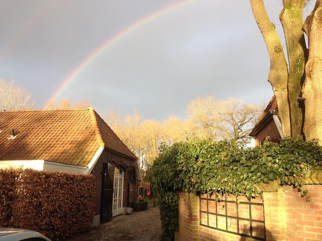 Farmhouse 'De Clinge' in small town Lochem