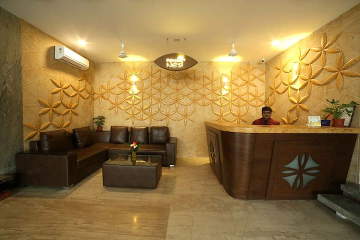 Rooms for monthly @ Maxcure Hospital Madhapur