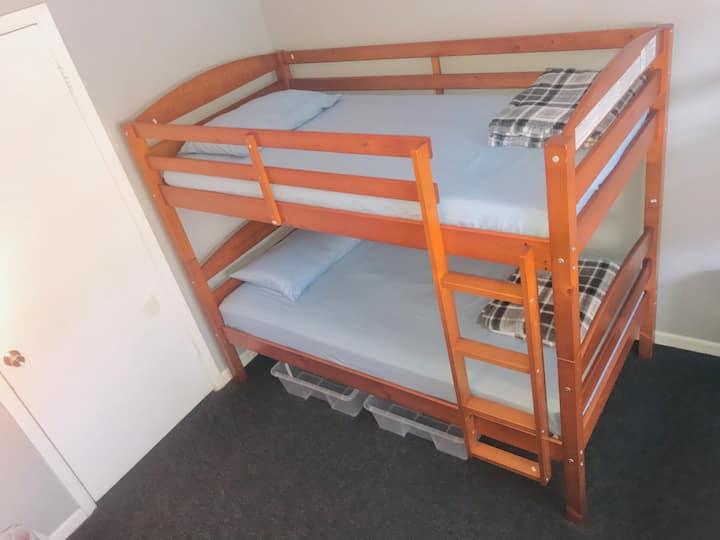 Bunk bed near the medical center - bunk 8