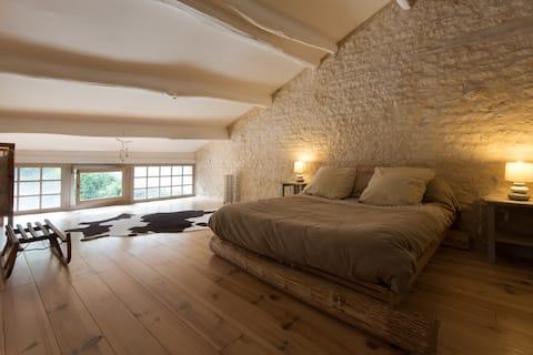 French cottage in Marais Poitevin