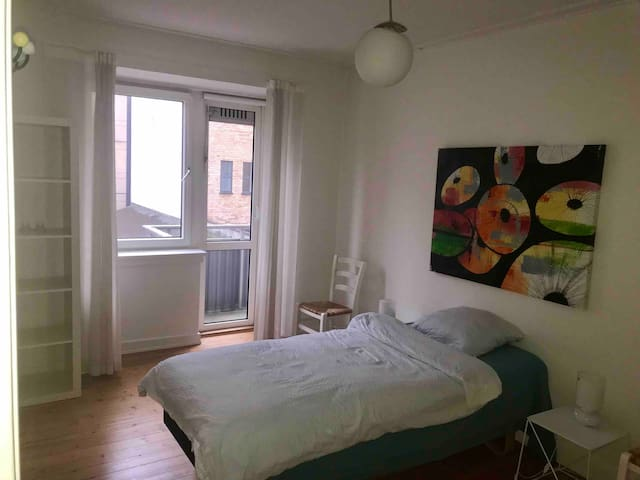 1st floor room close to Frederiksberg metro