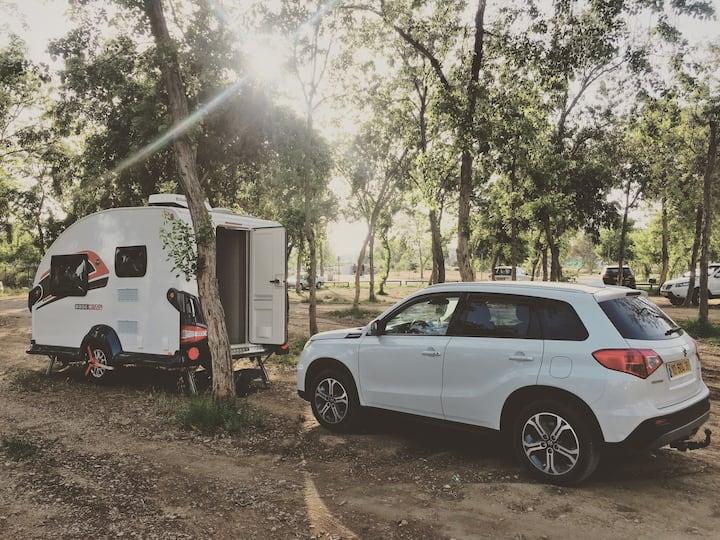 base camp trailer caravan