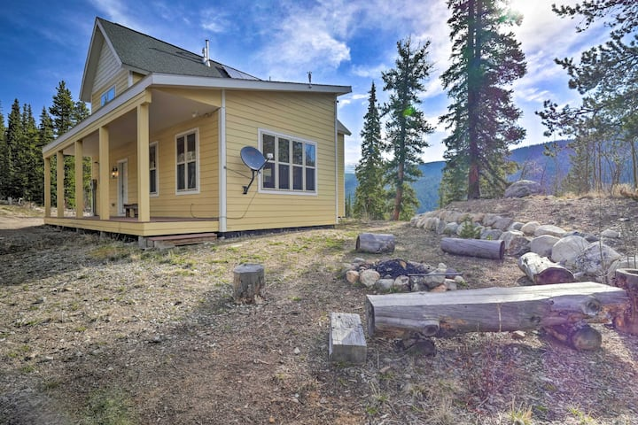 Alma Home w/ Mtn Views ~20 Mi to Breckenridge