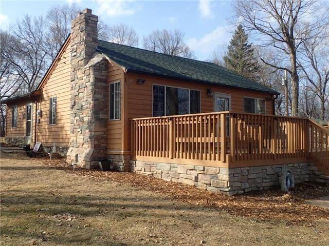 Charming Minnesota Lake Home 60 Min West of Mpls