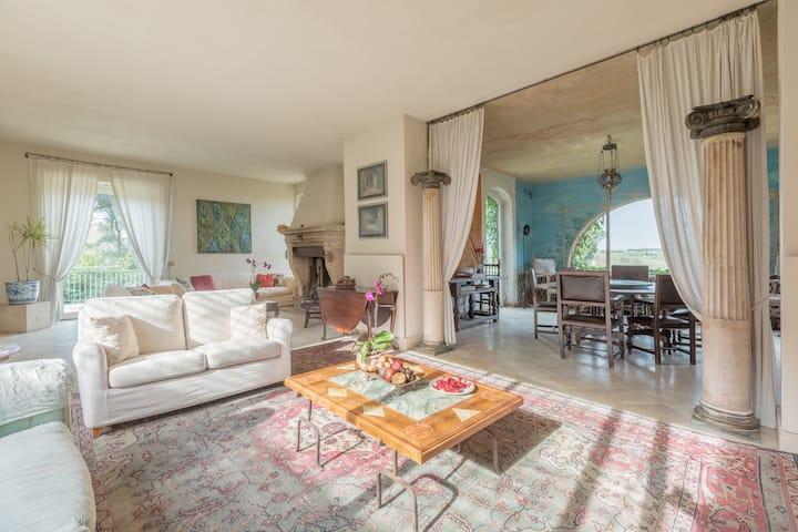 Villa privata alle porte di Roma