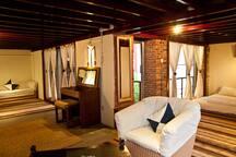 L-shaped loft