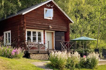 Log cabin in Nordingrå, the High Coast of Sweden