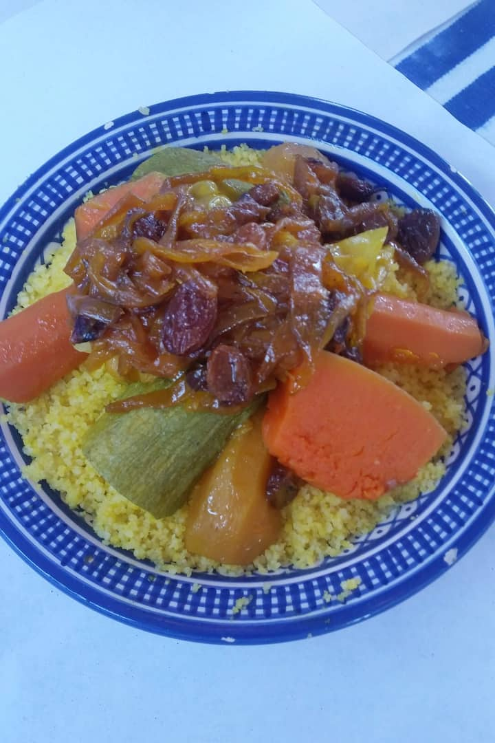 The best tasting couscous in morocco!
