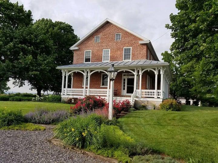 1820's Immell Homestead/blue room