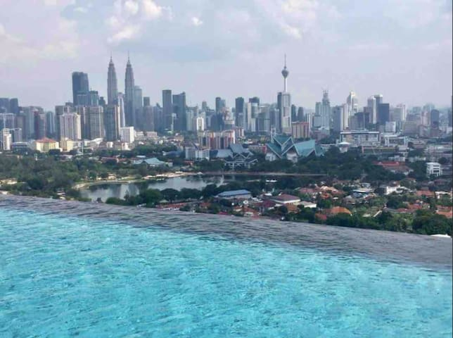 INFINITY POOL in the SKY private room shar.unit