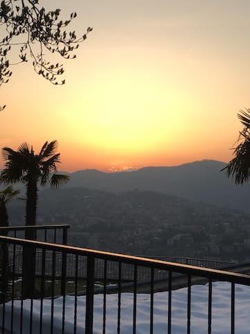 Lugano con giardino panoramico!! - Lugano - Casa