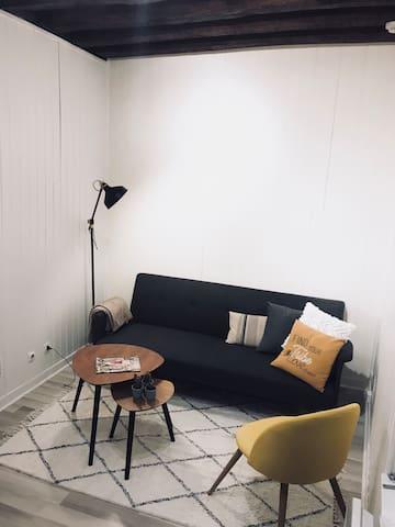 Petit studio cosy en plein centre ville d Orléans
