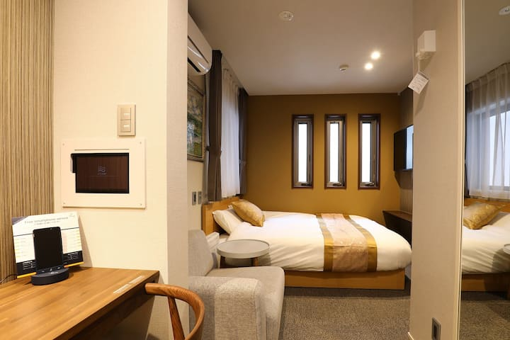 Walking distance to Hakata Station ★ Wi-Fi & washing machine included ♪ Popular smart hotel ☆