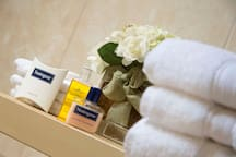Selection of complimentary toiletries