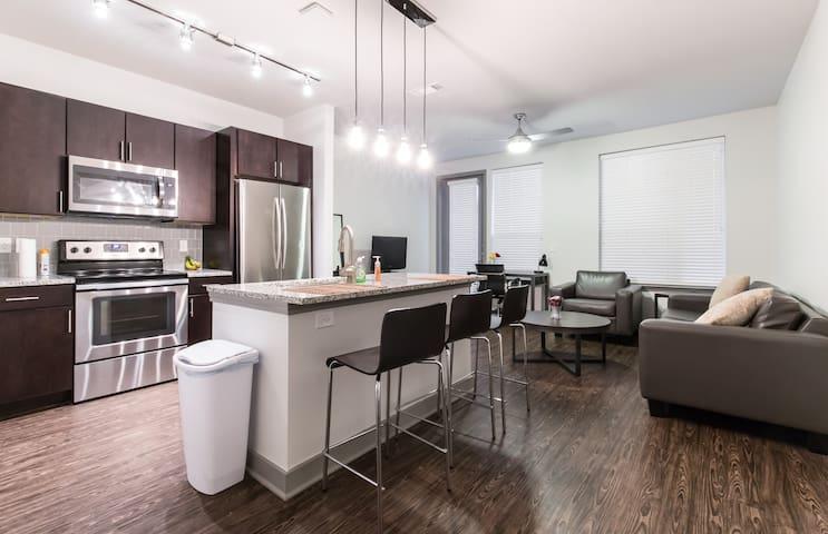 New apt in Richardson/Addison area - Richardson - Appartement