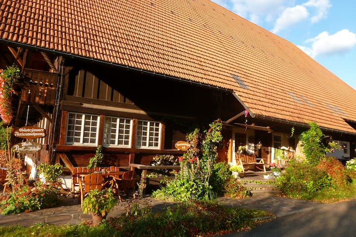 Knechtkammer im typischen Schwarzwaldhof