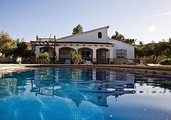 Stunning Villa in own Grounds pool - Almeria