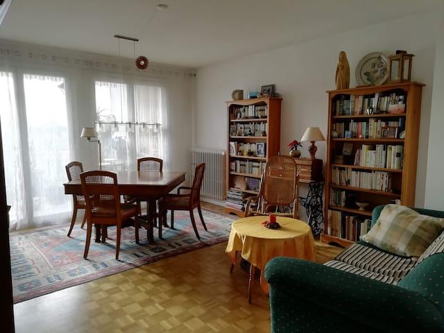 Appartement entre centre ville et université