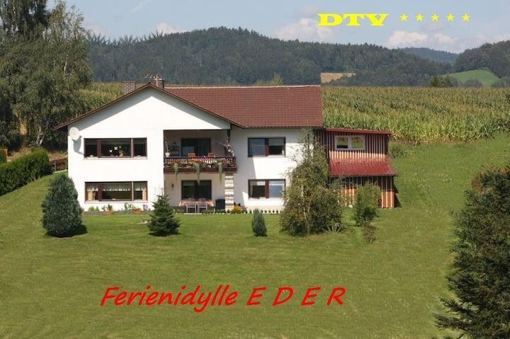 Ferienidylle Eder - 5 Sterne DTV - Dreiburgenland - Nationalpark Bayerischer Wald - ruhig - komfortabel - großzügig
