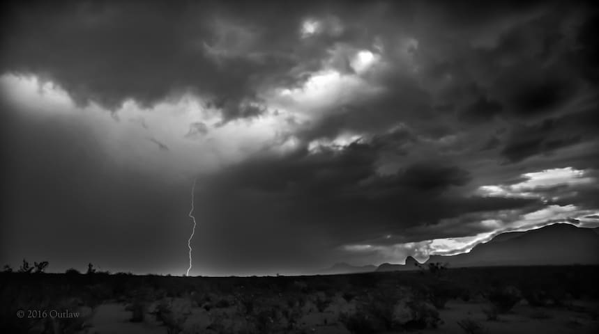 Storms rolling into Tin Valley