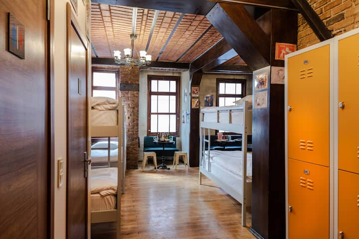12-Bed Female Dormitory  & Shared Bathroom  Room