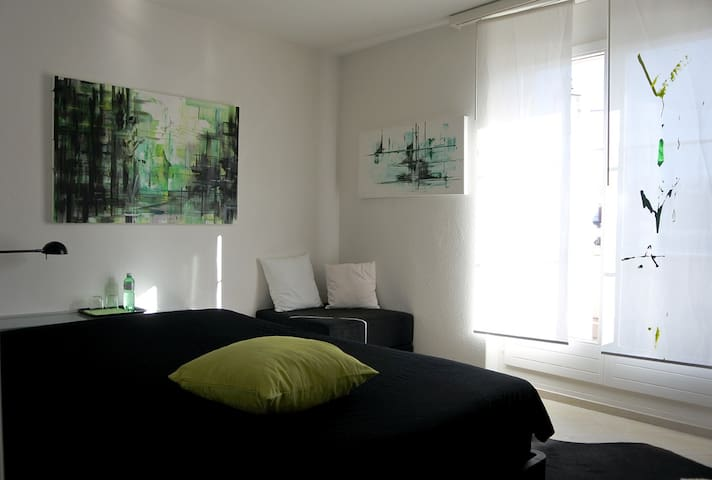 Guest room at daytime
