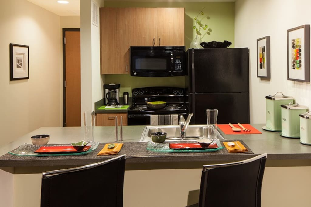 Kitchen in Radian - fully furnished
