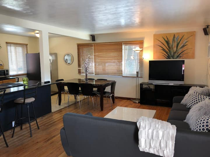 Updated Large Home W/ Hot Tub close to downtown