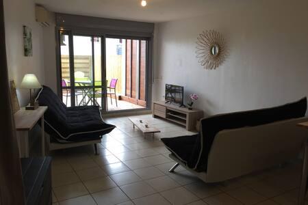 Studio meublé à 200m de la plage - Centre-Ville - Apartment