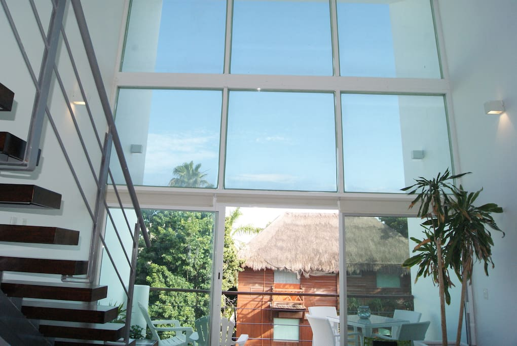 Trip Advantages Double Height ceilings in Costa Fina Playa