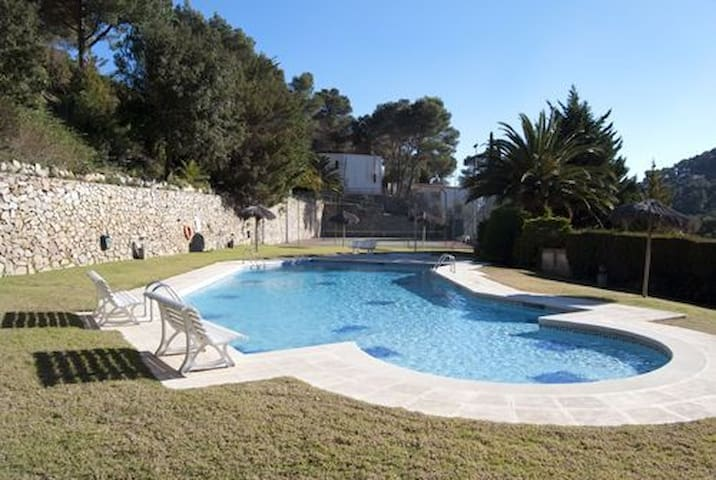 SES BRISES Apartments located  400 meters from the beach,  in a quiet area very close to t - Tamariu - Lejlighed