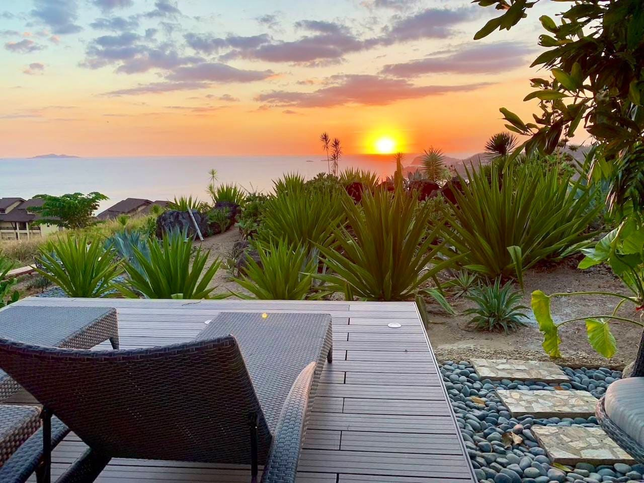 Watch the sunset with your loved ones in your own private oasis..