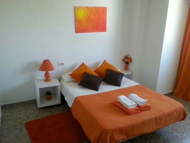 Habitación playa de Pinedo. Wifi. - Valencia - Appartement