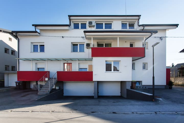 Very big&beautiful apartm. 160m2 edge of the city - Ljubljana