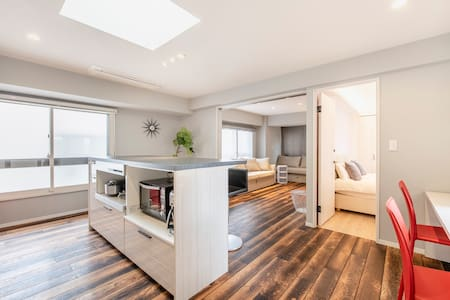 6mins to Shinjuku Sta.! Luxury & Spacious 2bedroom