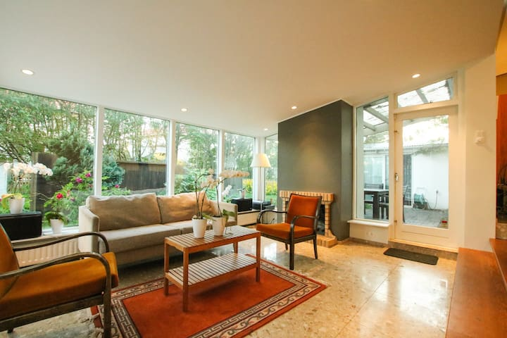 Large Modern Family House