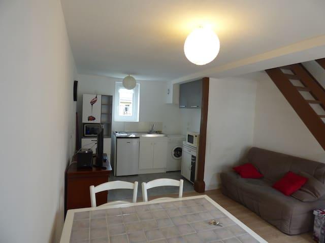 Appartement 40m2 rénové, tout confort - Honfleur - Huoneisto