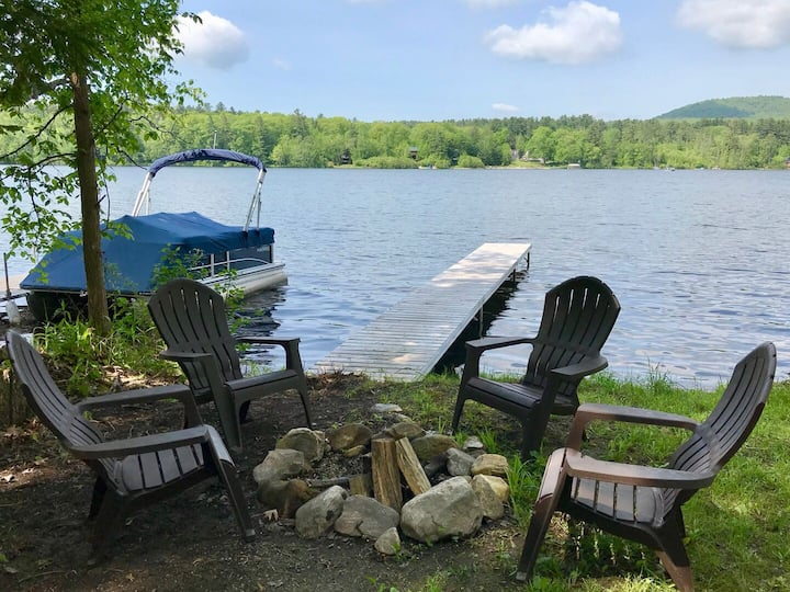 Lake Buel Cottage-GREAT SKI RENTAL-5 mins to Butternut!