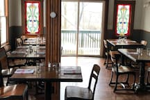 Trattoria Locale serves Italian food in Margaretville, 15 minutes away.