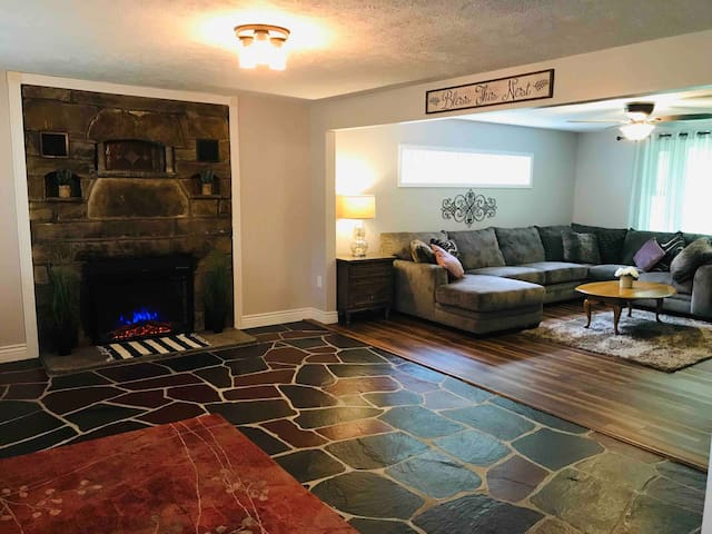 Mtn Home 5min drive Ohiopyle|Fallingwater|GAP 4bed