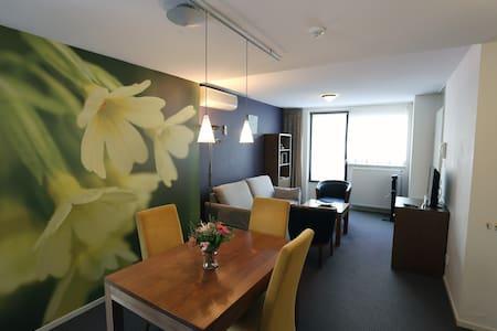 Appartement met apart slaapkamer kitchenette,airco - Oirschot - Apartamento