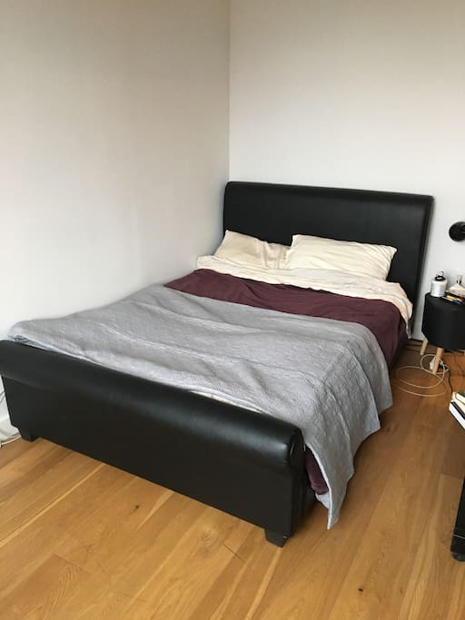comfy bed which fits two perfectly
