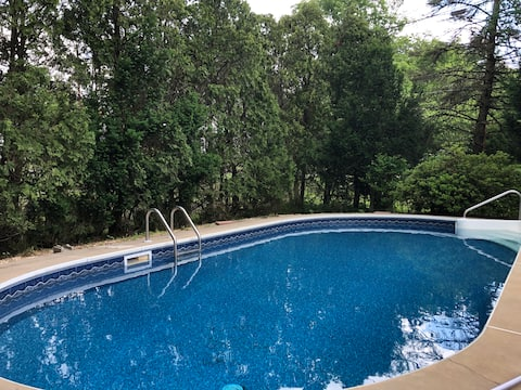 Enjoy the private in-ground pool all summer long!