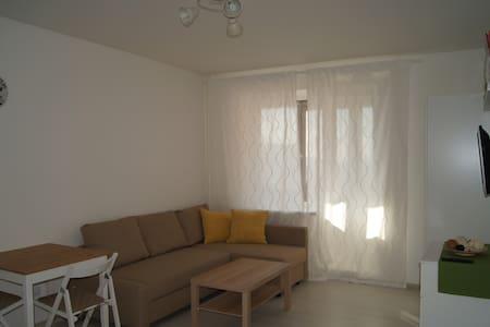 Новая квартира-студия у метро - Murino - Daire